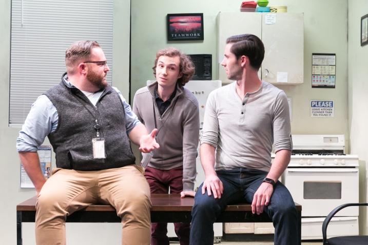 Connor Carew, Wesley Zurick, Charlie O'Rourke